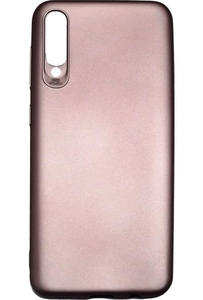 Ercan İletişim Samsung Galaxy A50 Silikon Kılıf Rose Gold
