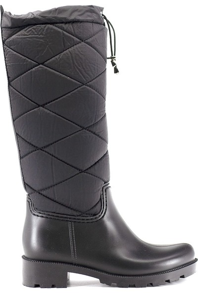 Eşle 9K-30710 Kadın Günlük Çizme Siyah