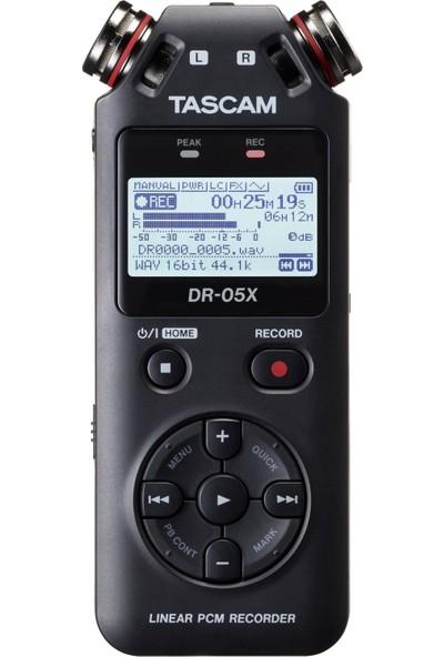 Tascam DR-05X Stereo Ses Kayıt Cihazı ve USB Ses Arabirimi
