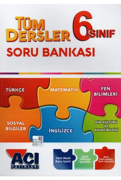 Açı Yayınları 6. Sınıf Tüm Dersler Soru Bankası