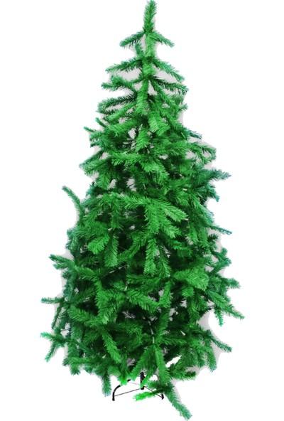 Acarim Yılbaşı Çam Ağacı Sık Dallı Demir Ayak 210 cm