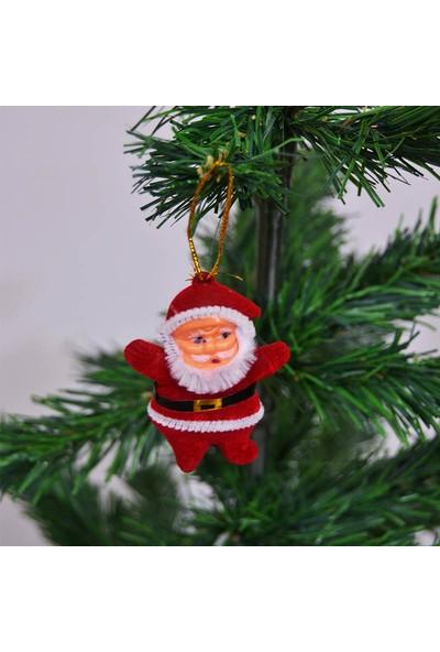 Acarim Yılbaşı Ağac Süsü Mini Noel Baba 6lı