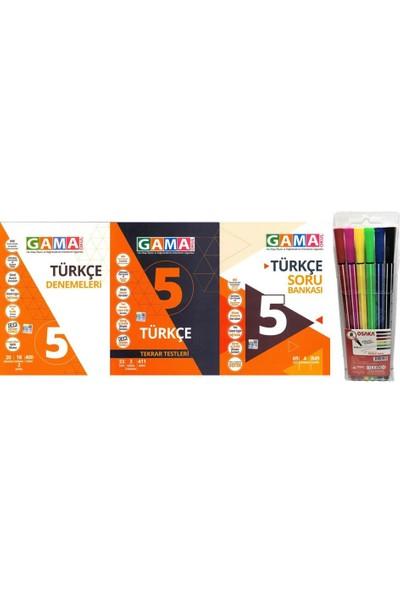 Gama Yayınları 5.Sınıf Türkçe 3'lü Set