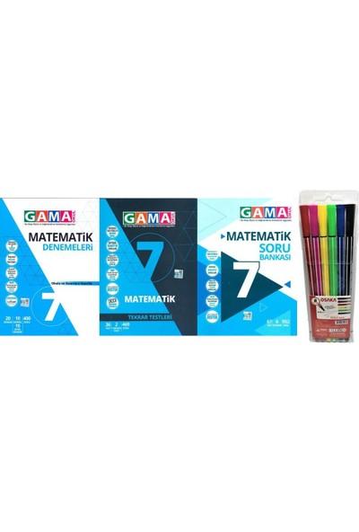 Gama Yayınları 7.Sınıf Matematik 3'lü Set