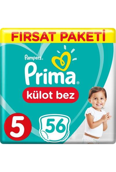 Prima Külot Bebek Bezi 5 Beden 56 Adet Junior Fırsat Paketi