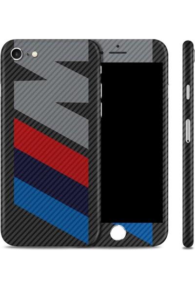 Renkli Garaj iPhone 6 Plus / 6s Plus M Premium Carbon Fiber Telefon Kaplaması