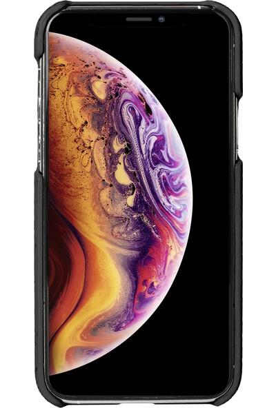Krusell Birka Mantar Apple iPhone 11 Pro Max Kılıf Siyah