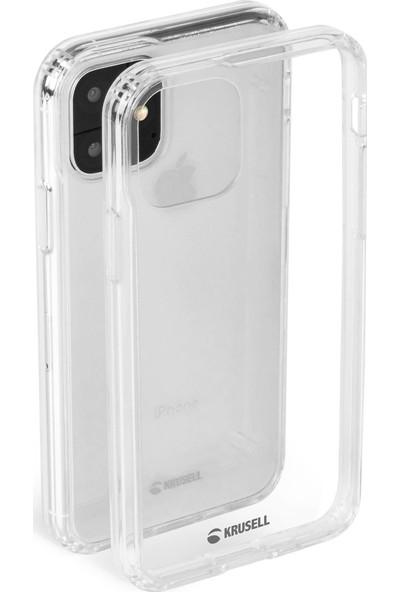 Krusell Kivik Cover Apple iPhone 11 Pro Max Kılıf Şeffaf