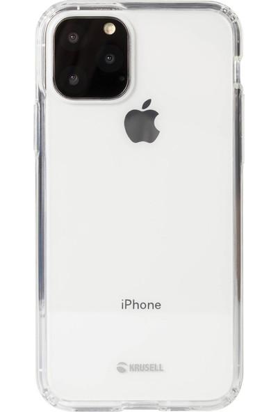 Krusell Kivik Cover Apple iPhone 11 Pro Kılıf Şeffaf