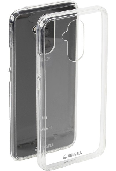 Krusell Kivik Huawei Mate 20 Lite Kılıf Şeffaf