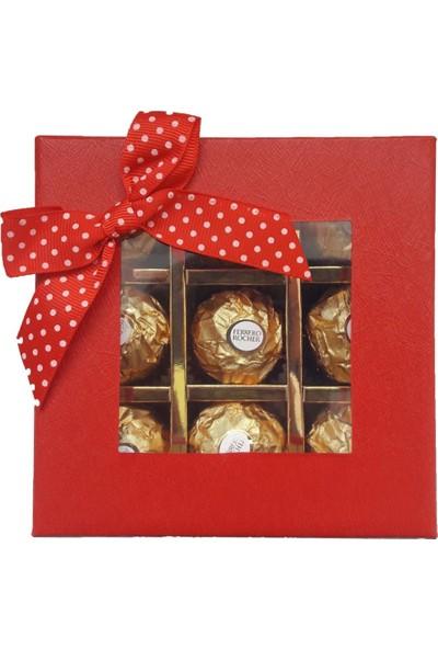 GiftiGifti Öğretmenler Günü Tasarım Çikolata Kutusu ve Ayıcık