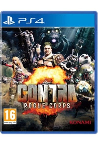 Contra Rogue Corps PS4 Oyun