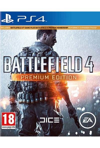 Battlefield 4 Premium Edition PS4 Oyun