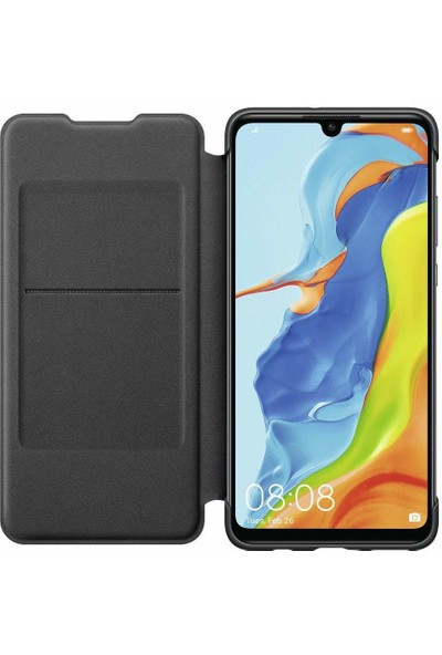 Huawei P30 Lite Wallet Cover - Siyah