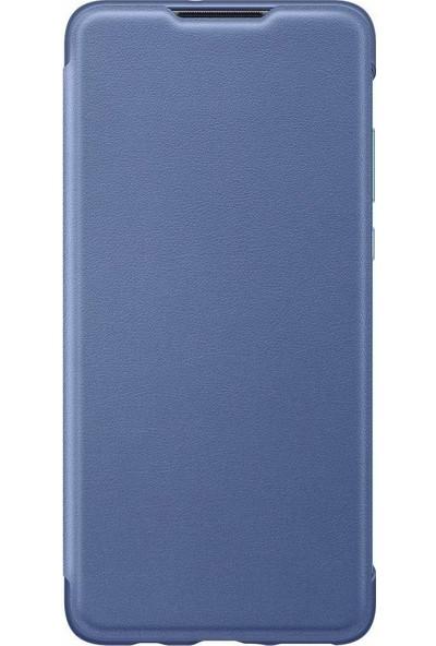Huawei P30 Lite Wallet Cover - Mavi
