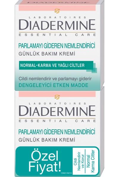 Diadermine Normal ve Karma Ciltler için Ne Mlendirici Bakım Kremi 2'li 50 Ml+50 Ml