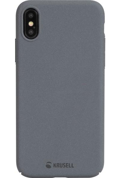 Krusell Sandby Apple iPhone XS Max Kılıf Gri