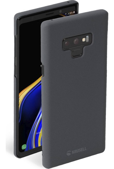 Krusell Sandby Samsung Note 9 Kılıf Gri