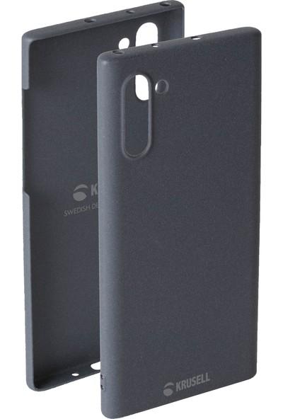 Krusell Sandby Samsung Galaxy Note 10 Kılıf Gri