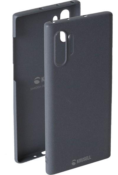 Krusell Sandby Samsung Galaxy Note 10 Plus Kılıf Gri
