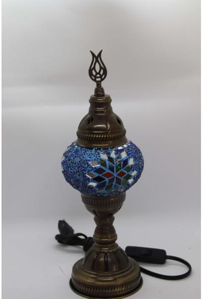 Mösyö Mozaik Masaüstü El Işçiliği Gece Lambası Küçük Boy