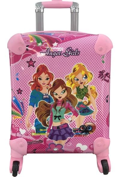 Gnc Design Angel Girls Kız Çocuk Valizi