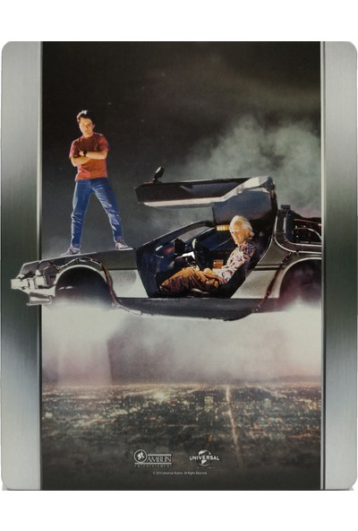 Back To The Future 2 - Geleceğe Dönüş 2 - Bluray Limited Edition Steelbook