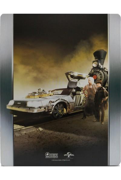 Back To The Future 3 - Geleceğe Dönüş 3 - Bluray Limited Edition Steelbook