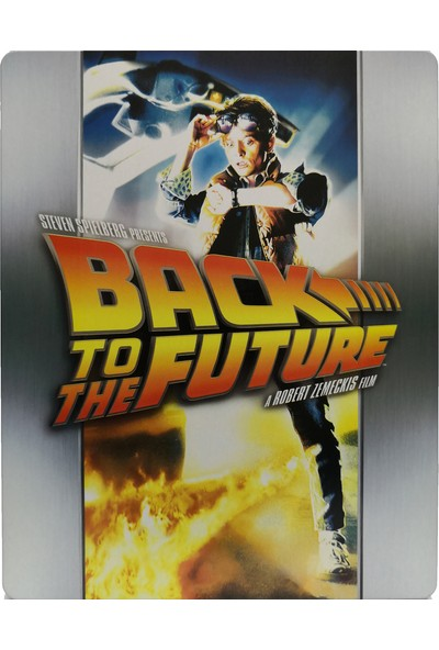 Back To The Future 1 - Geleceğe Dönüş 1 - Bluray Limited Edition Steelbook