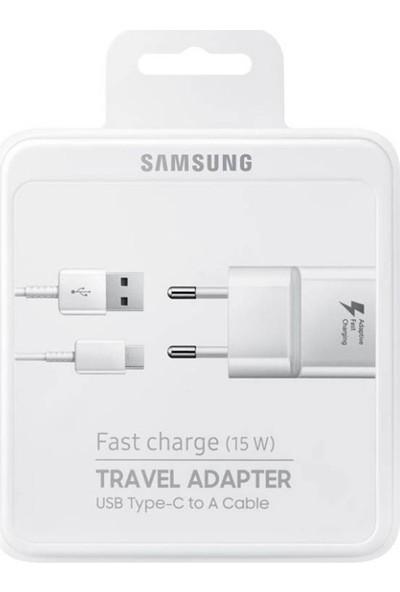 Media Cholic Samsung Type-C Hızlı Şarj Cihazı Beyaz