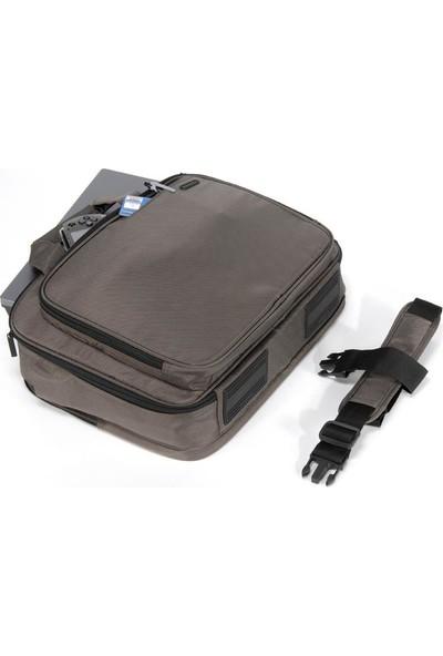 """Tucano Bar1 - C Area Large 15.4"""" Laptop Çantası - Kahverengi"""