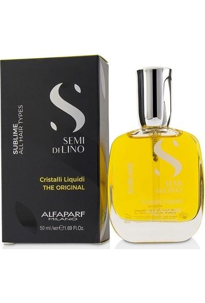 Alfaparf Semi Di Lino Sublime Cristalli Liquidi 50 ml