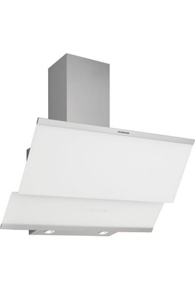 Silverline 3420 Classy Dekoratif Davlumbaz 90 cm Beyaz