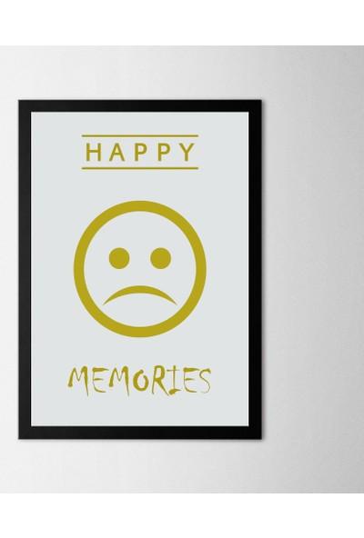 Polnight Happy Memories Çerçeveli Poster