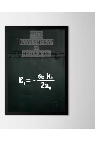 Polnight Hydrogen Çerçeveli Poster