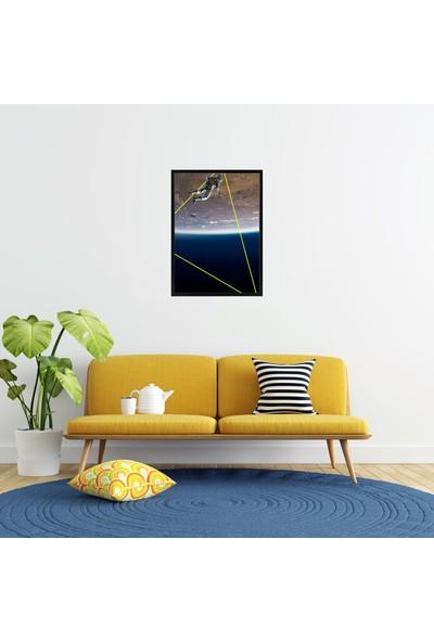 Polnight Jump Into The World Çerçeveli Poster