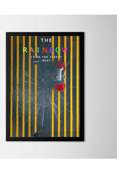Polnight The Rainbow Çerçeveli Poster