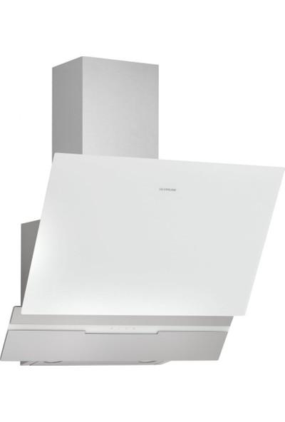 Silverline 3450 Slim Line Basic Dekoratif Davlumbaz 60 cm Beyaz