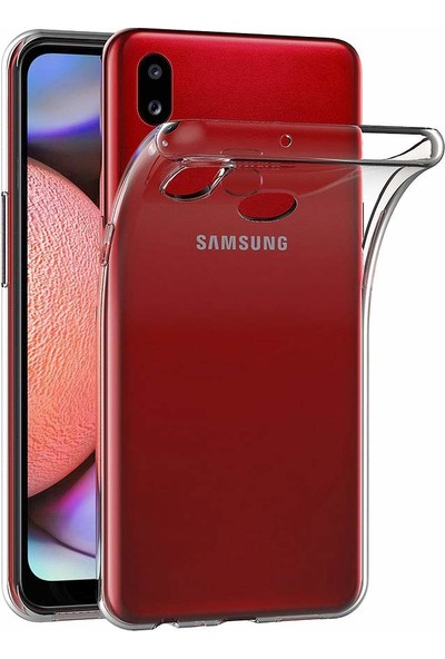 Quse Samsung Galaxy A10s Premium Şeffaf Silikon Kılıf