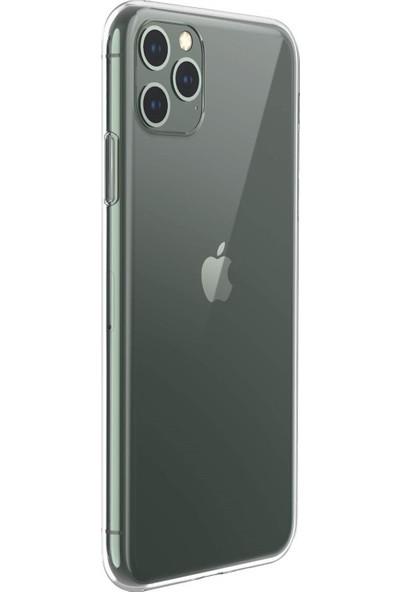 Quse Apple iPhone 11 Pro 5.8 Premium Şeffaf Silikon Kılıf