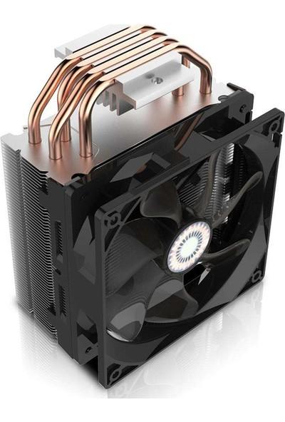 Cooler Master T400İ Kule Tipi CPU Soğutucu Kımızı LED Intel Uyumlu Fan