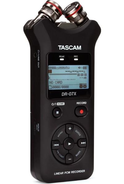 Tascam DR-07X Stereo Ses Kayıt Cihazı ve USB Ses Arabirimi