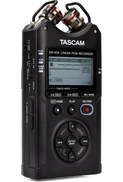 Tascam DR-40X 4-Kanal Ses Kayıt Cihazı ve USB Ses Arabirimi