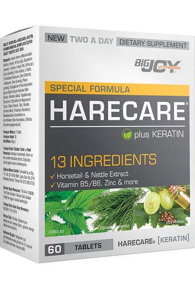 Big Joy Harecare Plus Keratin 60 Tablets