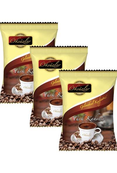 Öksüzler Türk Kahvesi 100 gr x 3'lü