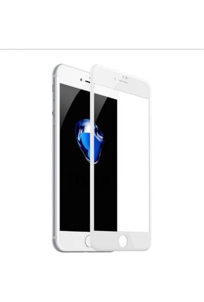 E-Depo Apple iPhone 7 Tam Kaplayan Ekran Koruyucu -Beyaz