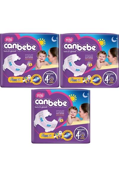 Canbebe Maxiplus 4+ Numara 36'lı x 3 Paket 108 Adet Bebek Bezi