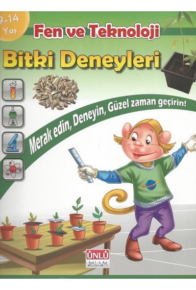 Ünlü Yayınları Fen ve Teknoloji - Bitki Deneyleri - Deney Kitapları