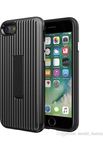 Luggage Case Apple iPhone 6s Kılıf - Siyah