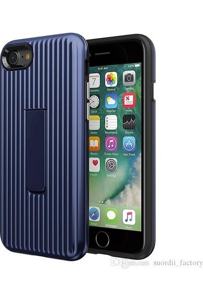Luggage Case Apple iPhone 6s Kılıf - Mavi